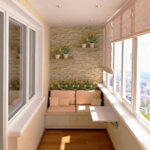 Теплый пол на балконе